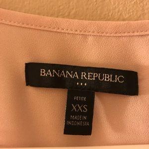 Pink banana republic top